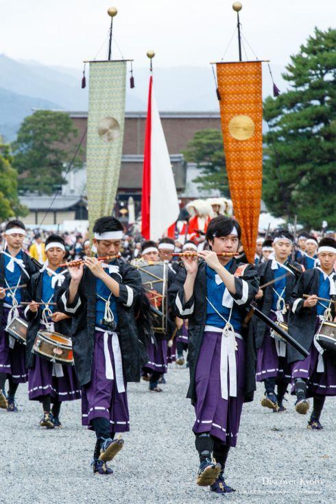 Jidai Matsuri History Meiji Imperial Troops
