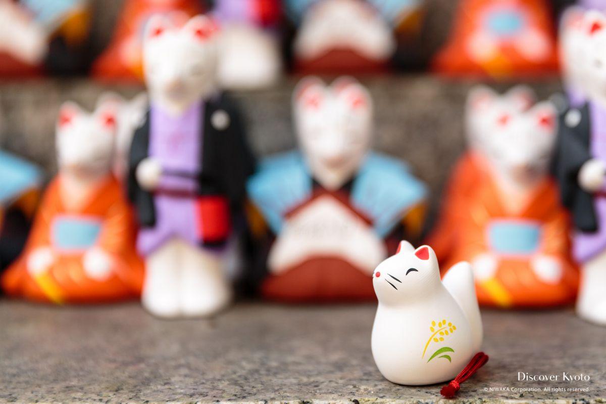 Omikuji Araki Shrine Fox Fortune 01