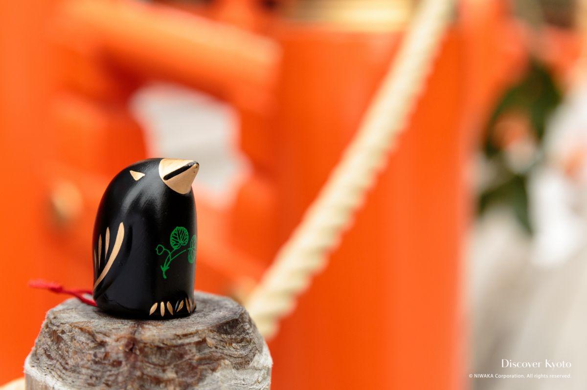 Omikuji Kamigamo Shrine Crow Fortune 01