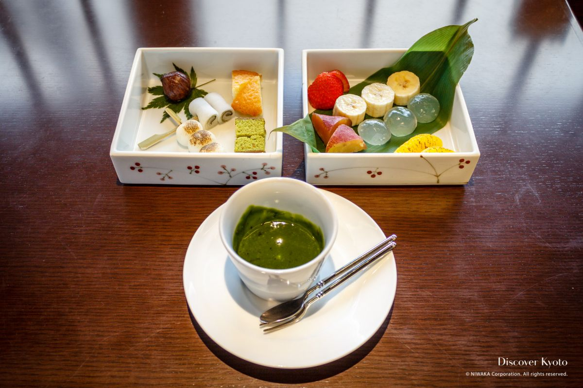 Green Tea in Kyoto Matcha Fondue