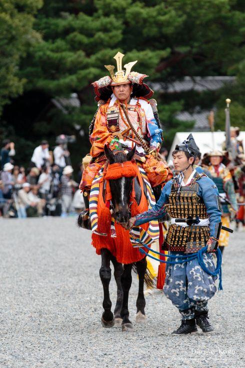 Jidai Matsuri History Kusunoki Masashige