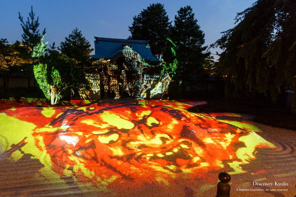Kodai-ji King Enma Projection Mapping