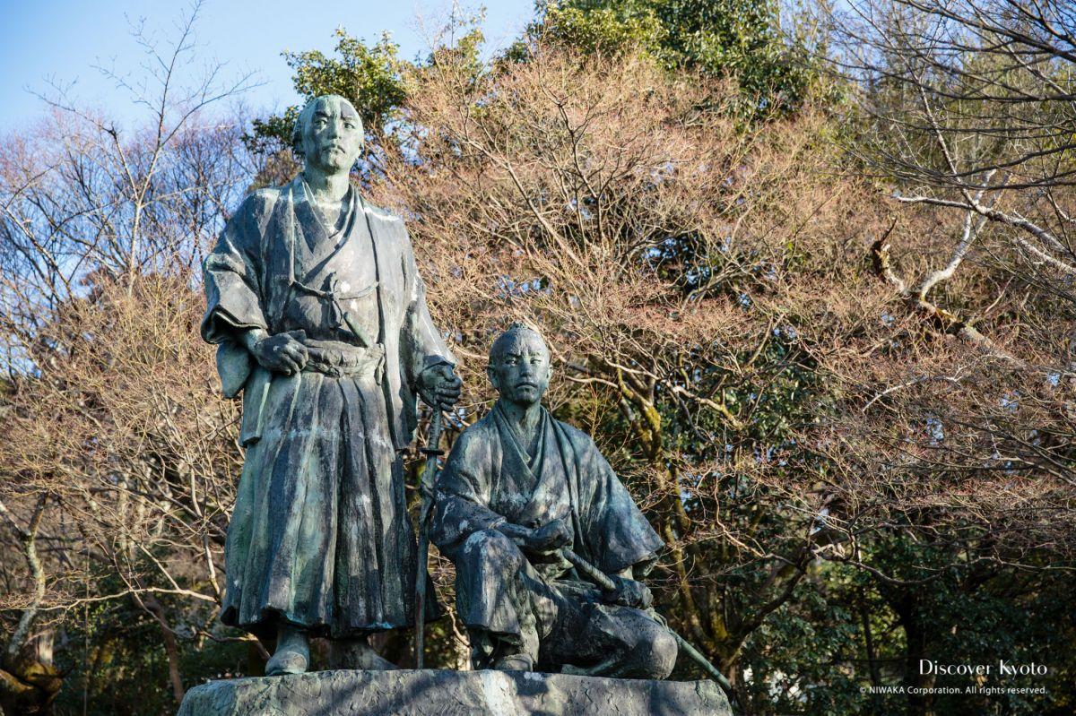 Kyoto Voice Statues Ryoma