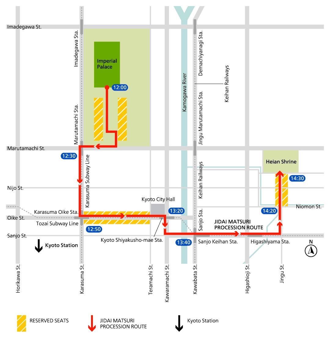 jidai festival route