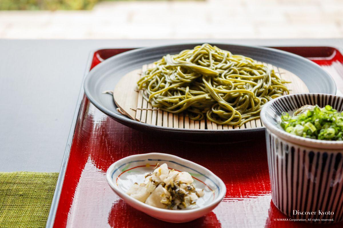 Green Tea in Kyoto Uji Matcha Soba