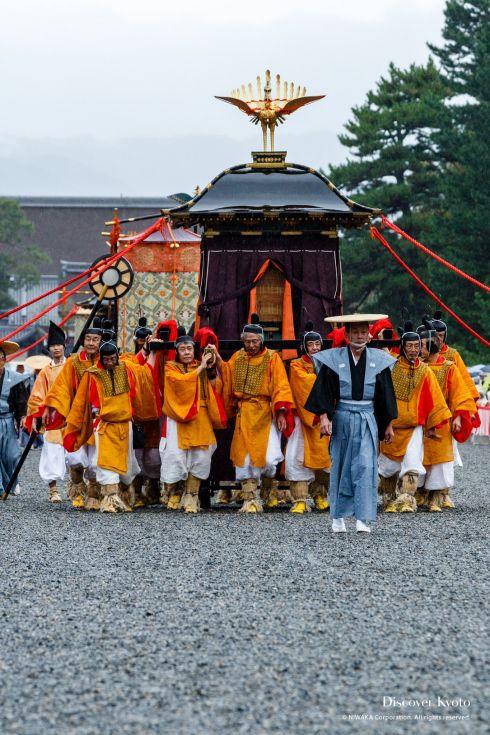 Jidai Matsuri History Omikoshi