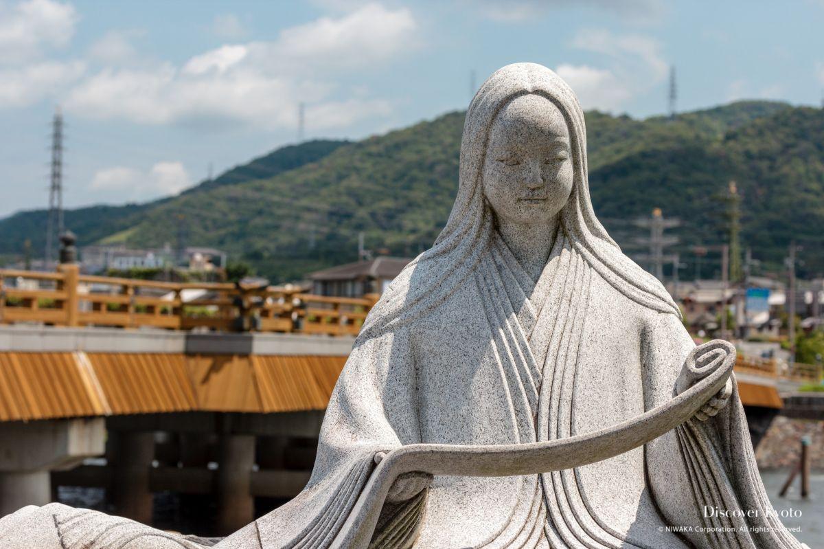 Kyoto Voice Statues Murasaki Shikibu