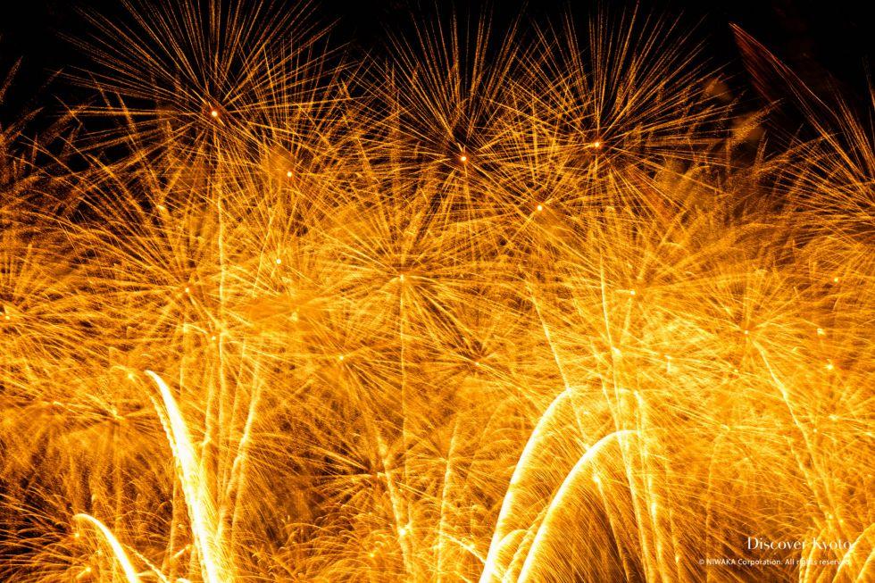 Kyoto Artistic Fireworks Gold