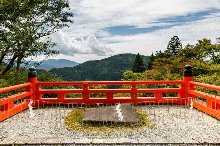 Summer view from Kurama-dera.