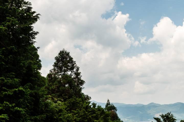 Tanukidani-san Fudō-in View