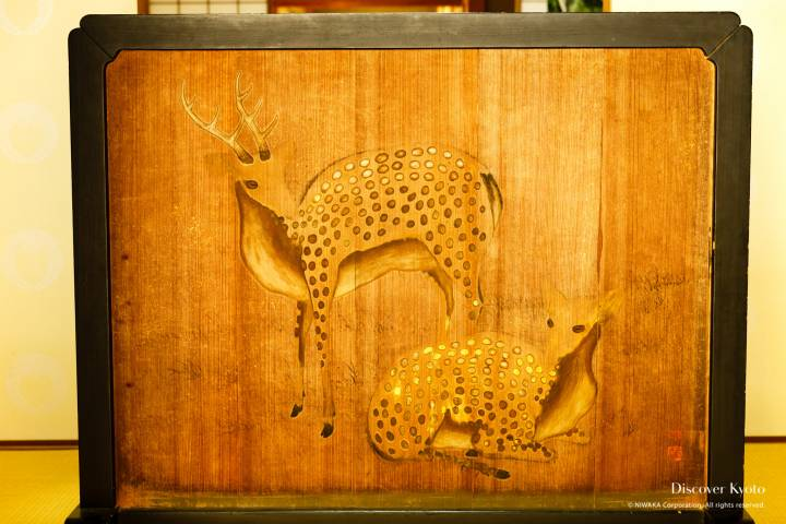 Ōharano Shrine Display Ema Deer
