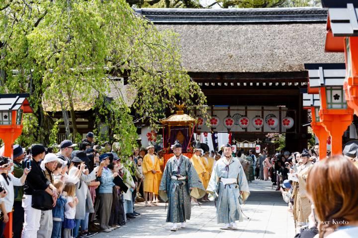 Okasai Procession Depart