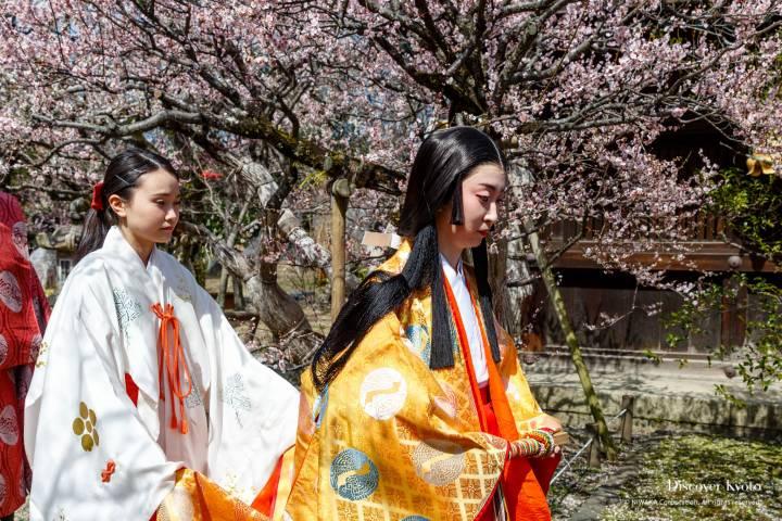 Kitano Kyokusui no En Escort Kimono