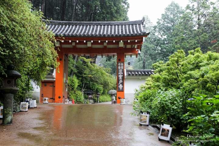 Entrance gate to Mimuroto-ji temple.