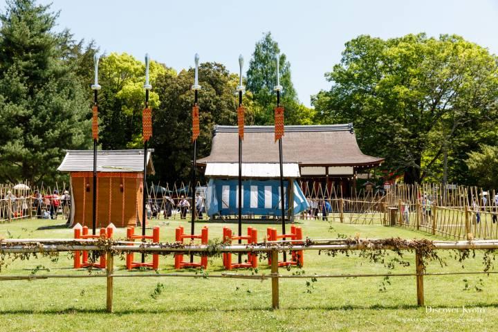 Kamo Kurabeuma Temporary Shrine