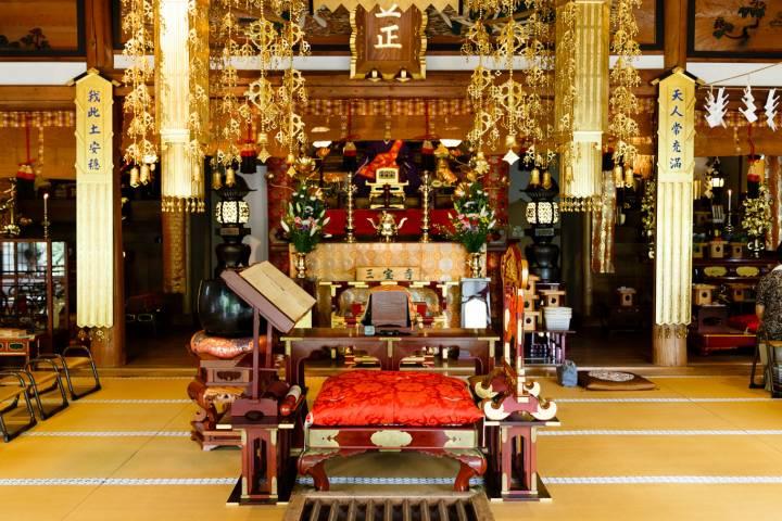 Sanbō-ji Hall Altar