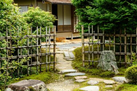 Jikkō-in Rikaku-an Teahouse Date