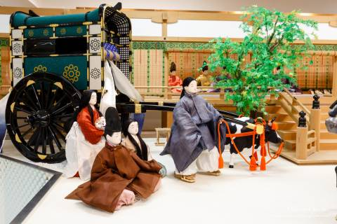 Costume Museum Gion Goryo-e festival carriage townspeople