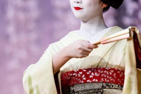 Kotobuki-kai Wisteria Maiko