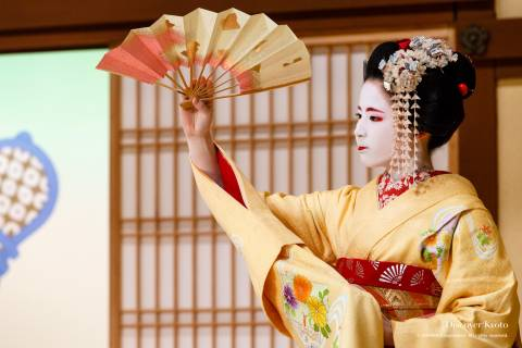 Kitano Odori Kamishichiken 2017 Umehina Hyotan