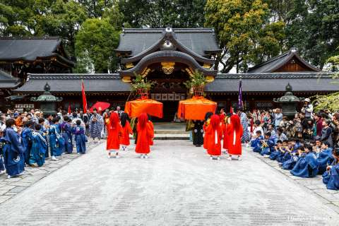 Yasurai Festival at Imamiya Shrine.
