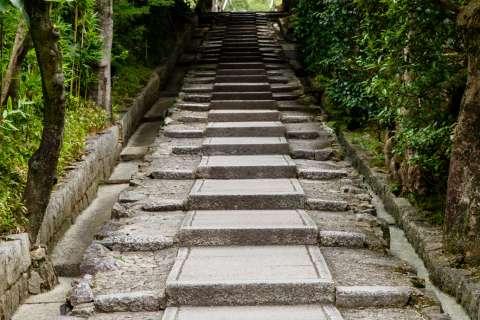 Staircase at Kōdai-ji.