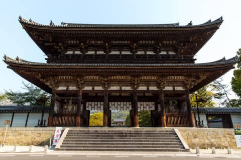 Niōmon Gate at Ninna-ji.