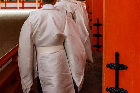 Heian Jingu Setsubun Priests