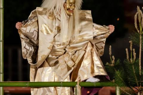 Takigi Noh 2017 Kokaji God Inari