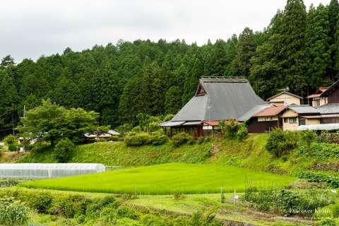 Ōhara countryside near Jakkō-in.