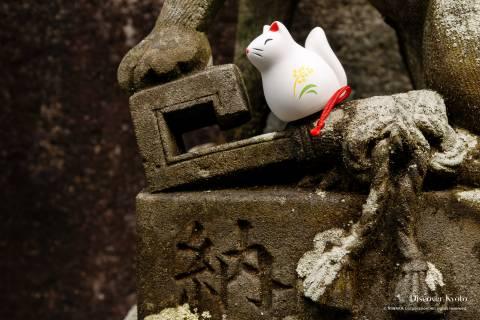 Omikuji Araki Shrine Fox Fortune 02