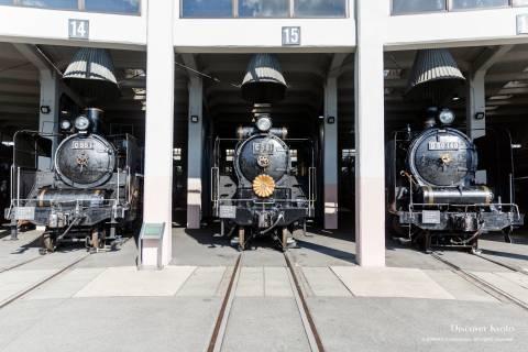 Kyoto Railway Museum Steam Train Lineup
