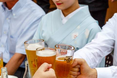 Kamishichiken Beer Garden Alcohol Cheers