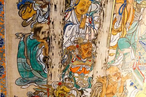 Honpō-ji Painting Nehan-zu Artist