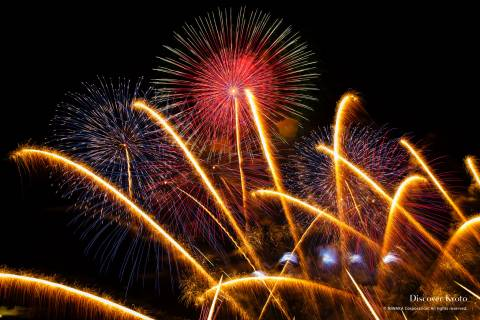 Kyoto Artistic Fireworks Finale