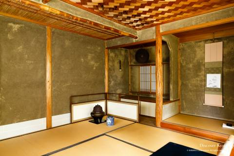 Jikkō-in Teahouse Interior