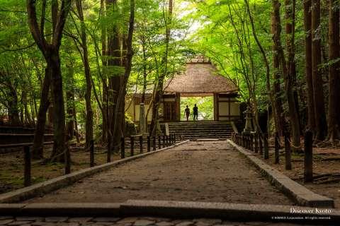 Gate at Hōnen-in.