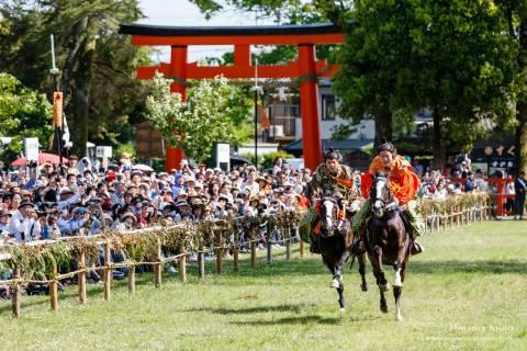Kamo Kurabeuma Race Full Speed