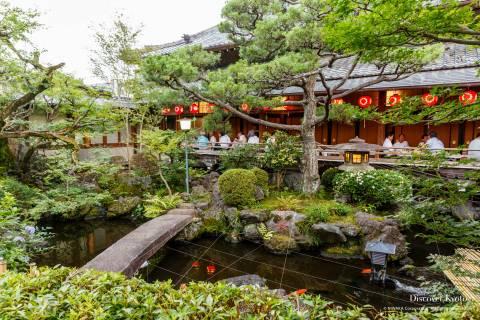 Kamishichiken Beer Garden Theater Garden