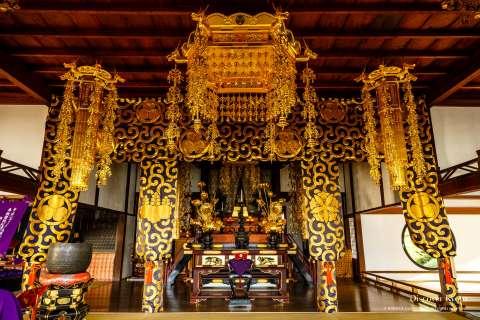 Buddhist altar at Genkō-an.