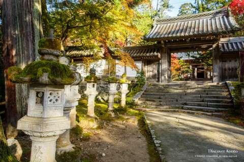 Entrance to Saimyō-ji temple.