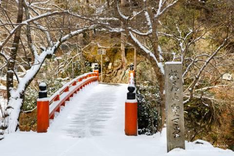 Saimyō-ji Snow Bridge Path