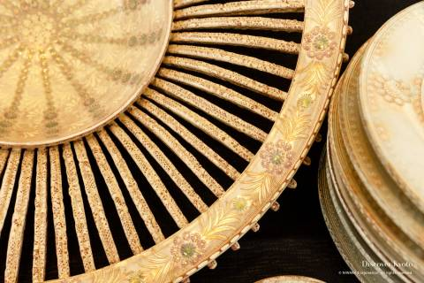 Kiyomizuyaki no Sato Matsuri ceramics embossed