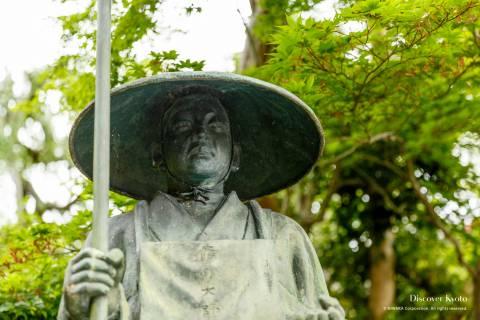 Yoshimine-dera Temple Statue Monk