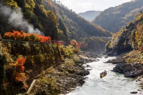 Hozugawa Kudari Boat Mountains Train