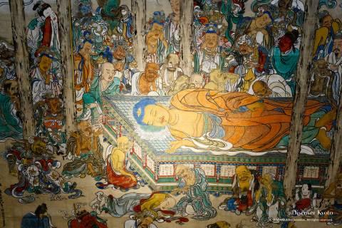 Honpō-ji Painting Nehan-zu Buddha