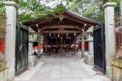 Miyake Hachimangū Main Hall