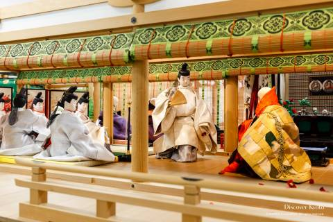 Costume Museum Butsumyo-e ritual Rokujo-in Genji Monogatari