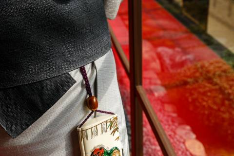 Netsuke Museum Inro Netsuke Kimono