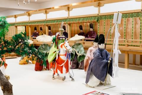 Costume Museum Gion Goryo-e festival procession Shinto